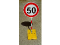 Dopravní zařízení pro provizorní značení