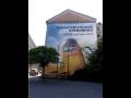 reklamní banner na zeď