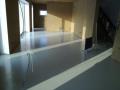 Krycí polyuretanová podlaha pro velké plochy