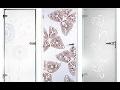 Sklenářství SAŠ GLASS s.r.o. vyrábí mimo jiné celosklenněné dveře s ornamenty