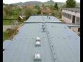 Ploché střechy se systémem kotvených SOLO pásků z modifikovaného asfaltu