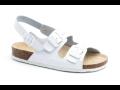 Bílá pracovní a bezpečnostní obuv Zlín - snadno udržovatelná