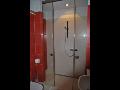 Skleněné sprchové zástěny