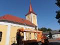 Klemp��sk� pr�ce - st�echa kostela