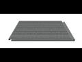 Demontierbares Fußbodensystem - PVC-Platten Brünn, die Tschechische Republik