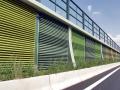 Betonové protihlukové stěny Liadur od Lias Vintířov