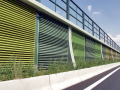 Protihlukové stěny Liadur s vysokou akustickou účinností, Vintířov
