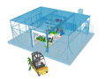 Robotizovan� pracovi�t� pro sva�ov�n� odporov� a tavn�