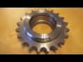 Zušlechtěné strojní součásti, ozubená, řetězová kola, hřídele - výroba