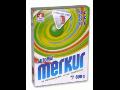 Prací prášok MERKUR - tradícia od výrobcu, Česká republika