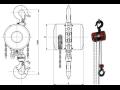 Zvedací zařízení - řetězové kočky, zvedáky a kladkostroje Brano