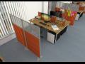 Paravánový systém Variabil od ErgoOffice je praktickým způsobem rozdělení pracovního prostoru