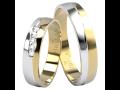Snubní prsteny z kombinace různých druhů zlata