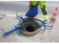 Uložení kanalizačních poklopů do nových vozovek