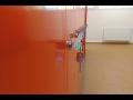 Výroba šatních kovových barevných skříněk a boxů pro 1. a 2. stupeň základních škol.