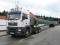 Nákladní přeprava sypkých a nadrozměrných nákladů, včetně pojištění rizik