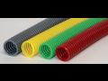 Ochrana kabelových svazků, plastové ochranné trubky a hadice