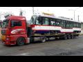 Nadměrné náklady, nadrozměrná přeprava včetně doprovodného vozidla
