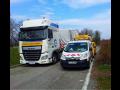 Ładunki ponadgabarytowe, transport ponadgabarytowy wraz z pojazdem towarzyskim