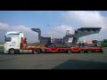 �adunki ponadgabarytowe, transport ponadgabarytowy wraz z pojazdem towarzyskim