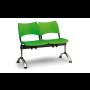 Plastové lavice do čekáren - dvojsedák