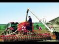 Šnekové dopravníky poháněné hydromotorem pro secí stroje a rozmetadla hnojiv