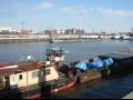Říční přeprava nadrozměrného nákladu po evropských řekách a kanálech