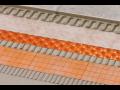 Bezpečná a odolná podlahová konstrukce Schlüter s kontaktní drenáží a izolací