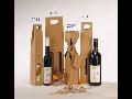 Obaly na víno, krabice, papírové tašky