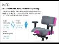 Ergonomické židle Therapia do kanceláře i ordinace-pro dlouhodobé sezení