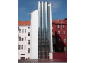 Steel chimneys Teplice - free-standing, facade attached chimneys or lining an existing chimney, the Czech Republic