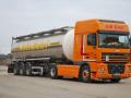 Kamionová vnitrostátní i mezinárodní nákladní doprava, přeprava sypkých hmot