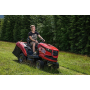 Snadno ovladatelné žací, zahradní traktory Seco pro celoroční použití