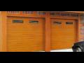 Prodej garážových vrat Příbram - sekční vrata z masivního dřeva na zakázku