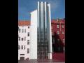 Stahlschornsteine Teplice, die Tschechische Republik