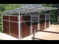 Mobilní EURO boxy pro koně na výstavy, soutěže nebo jako sanitární boxy
