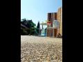 Obklady, dlažby a podlahy kolem bazénů, oblázková dlažba