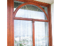 EURO okna a dveře Příbram - dřevěné dveře a okna různých tvarů a vzhledů