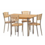 Jedinečné jídelní stoly a židle – dřevěné i kovové jídelní soupravy od českých a slovenských výrobců