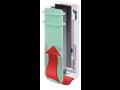 Kúpeľňové panely Campaver s ventiláciou a akumuláciou tepla zo skla, ČR