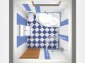 Koupelny na kl��,stavby rekonstrukce koupelen grafick� n�vrhy