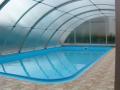 Zastřešení bazénů výroba montáž hlinková či nerezová konstrukce