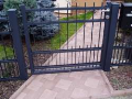 Výroba ocelové brány, vrata s povrchovou úpravou, zábradlí, schodiště, stožáry