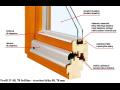 Výroba prodej Dřevěná EURO okna dřevěné vchodové dveře Semily