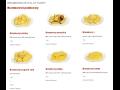 Loupané brambory, bramborové polotovary pro gastronomii