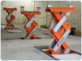 Equipment for car repair shops - Stertil KONI 1065 mobile column lifts for tractors and building machines, the Czech Republic