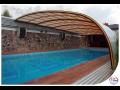 Zastřešení bazénů, nízké, vysoké a kombi modely