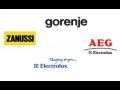 Vestavné i volně stojící spotřebiče Electrolux, AEG, Zanussi-prodej za internetové ceny