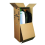Stěhovací kartonové krabice a šatní boxy - kvalitní materiál a provedení