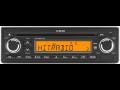 Autor�dia VDO D���n - 12V nebo 24V, USB, CD p�ehr�va�, podpora MP3, oran�ov� LCD display